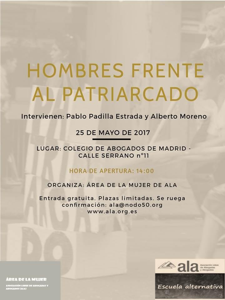 HOMBRES FRENTE AL PATRIARCADO 2