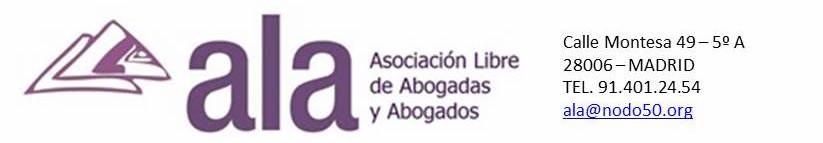 ALA (Asociación Libre de Abogadas y Abogados)