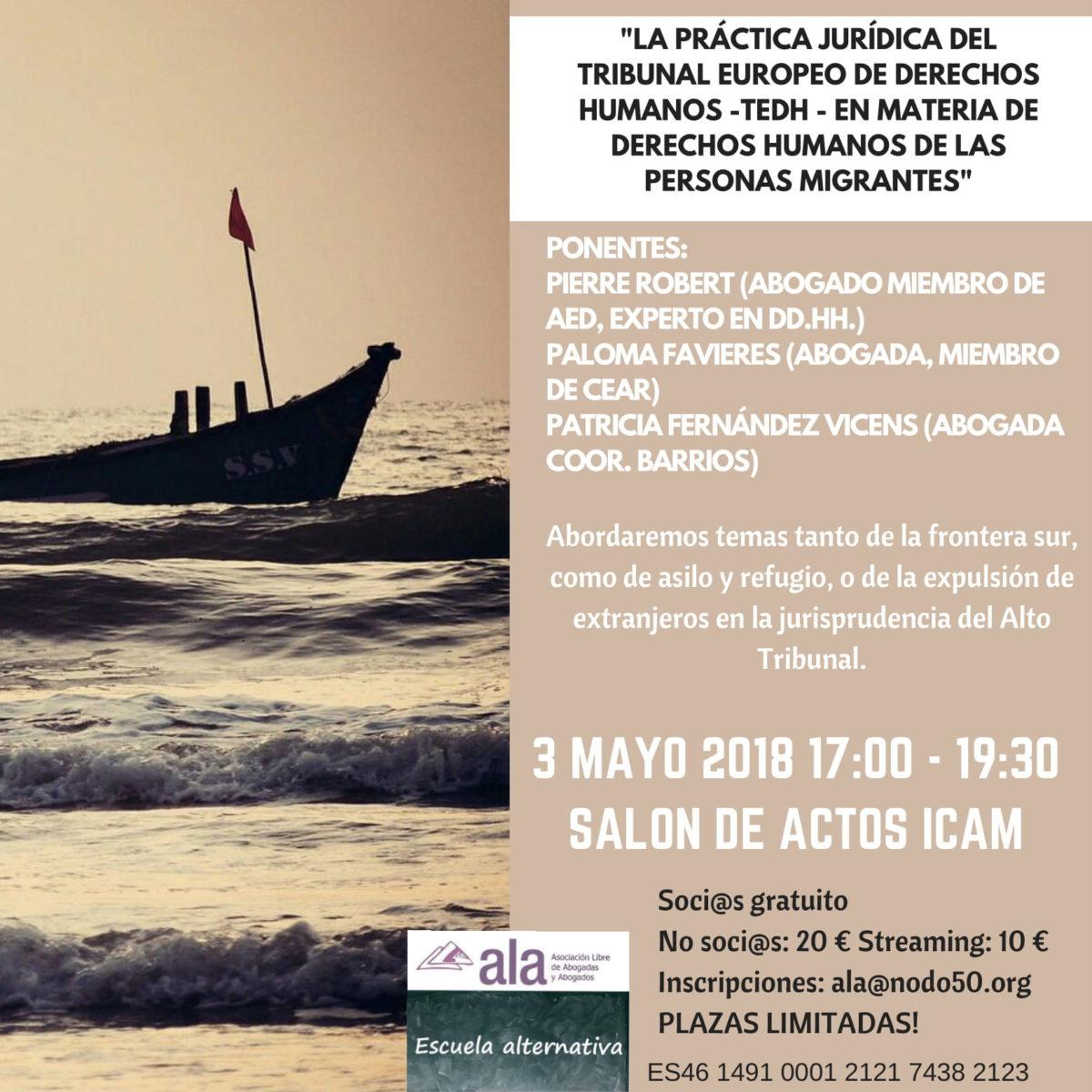 La Práctica Jurídica del TEDH en materia de Derechos Humanos de las personas migrantes